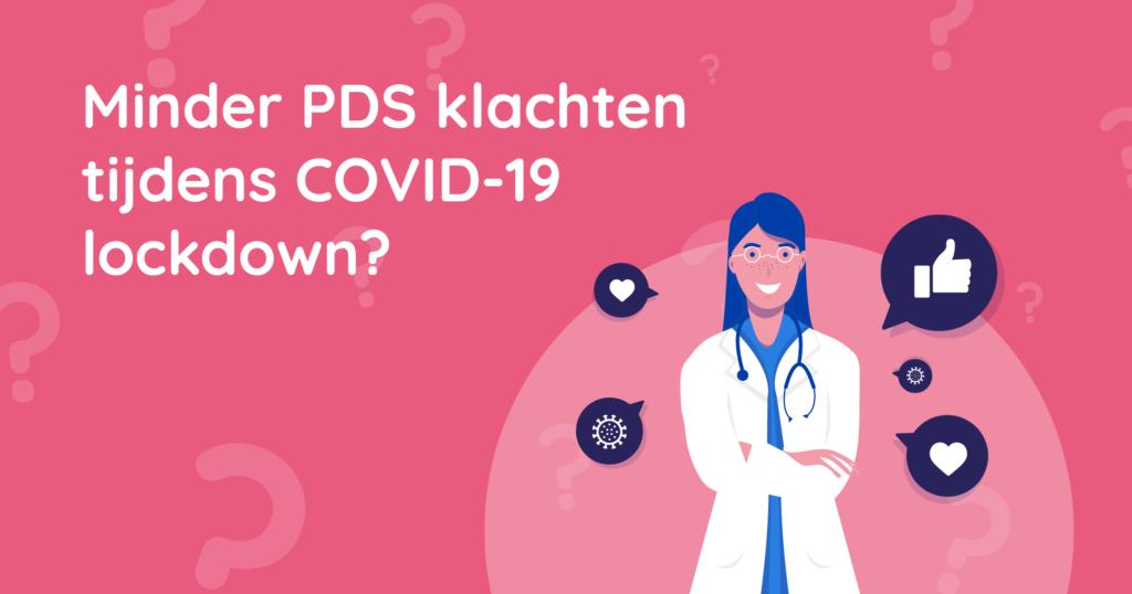 Minder PDS klachten tijdens COVID-19 lockdown