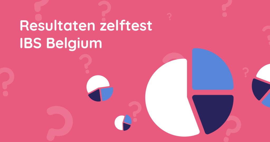 Resultaten zelftest IBS Belgium