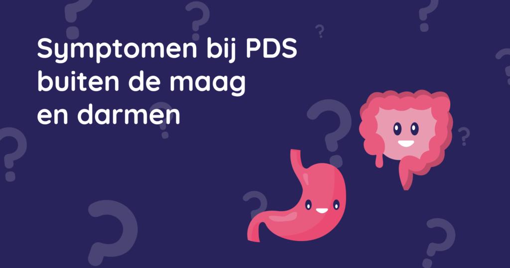 Symptomen bij PDS